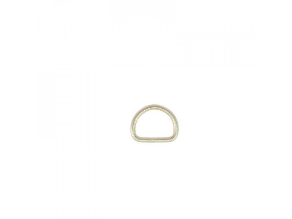 steel d ring nickel plated 255 l