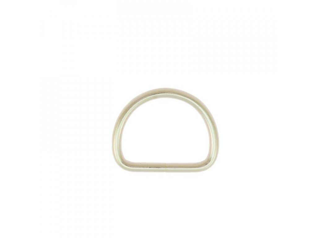 steel d ring nickel plated 262 l