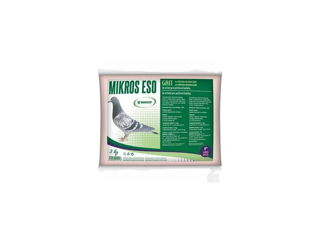 MIKROS Holub -ESO GRIT s jodem 3 kg