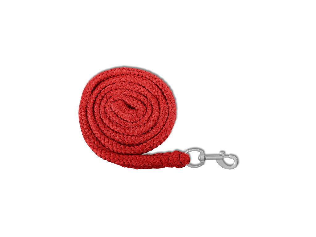 Vodítko ECO s normální karabinou, červené