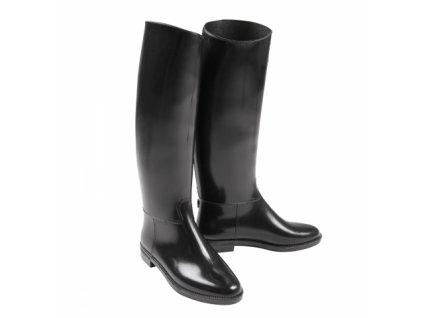 Jezdecké boty gumové dámské
