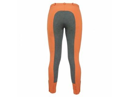 Jezdecké dámské rajtky ELT Micro, oranžové