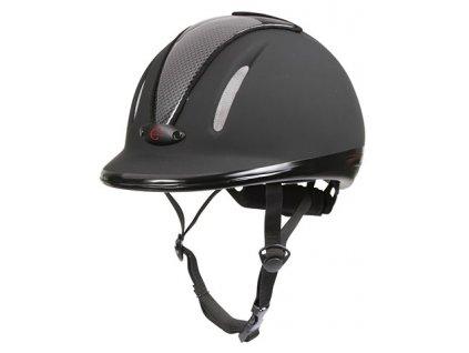 Jezdecká helma Covalliero Carbonic