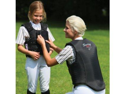 Bezpečnostní vesta SWING Guard dětská