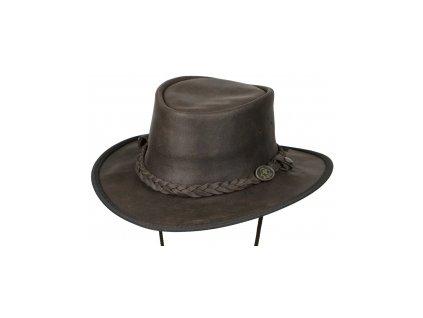 Kožený klobouk - SADDLER