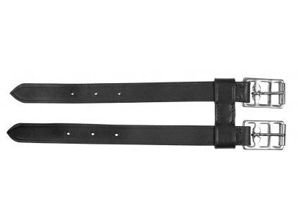 Prodloužení podbřišníku kožený 2přezkový 27 cm