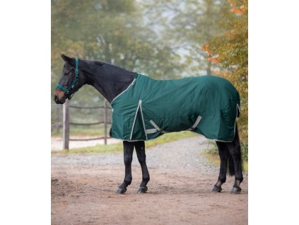 Výběhová deka, pláštěnka Economic Waldhausen fleece, zelená