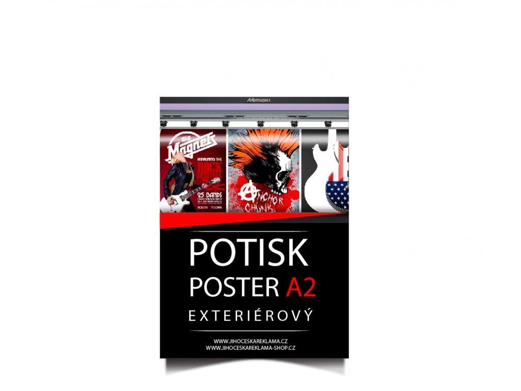 Poster A2 - potlač