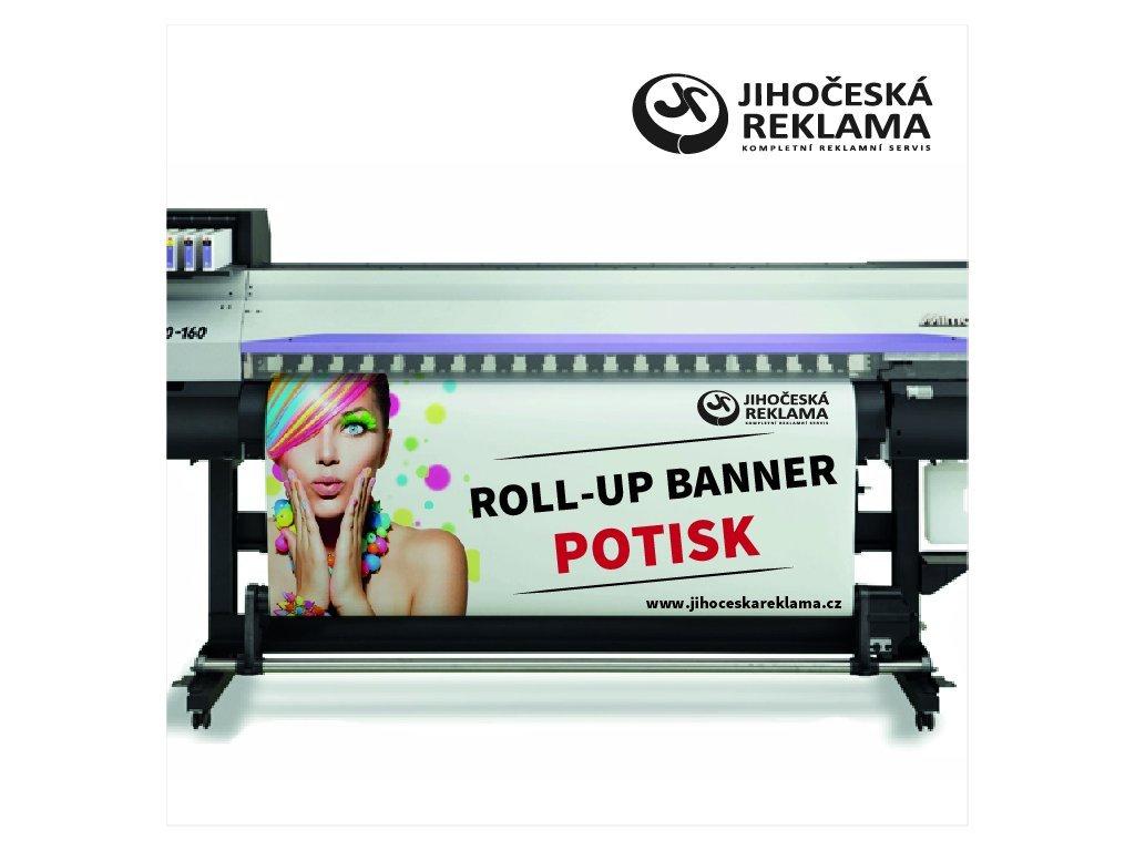 Roll-up banner potlač
