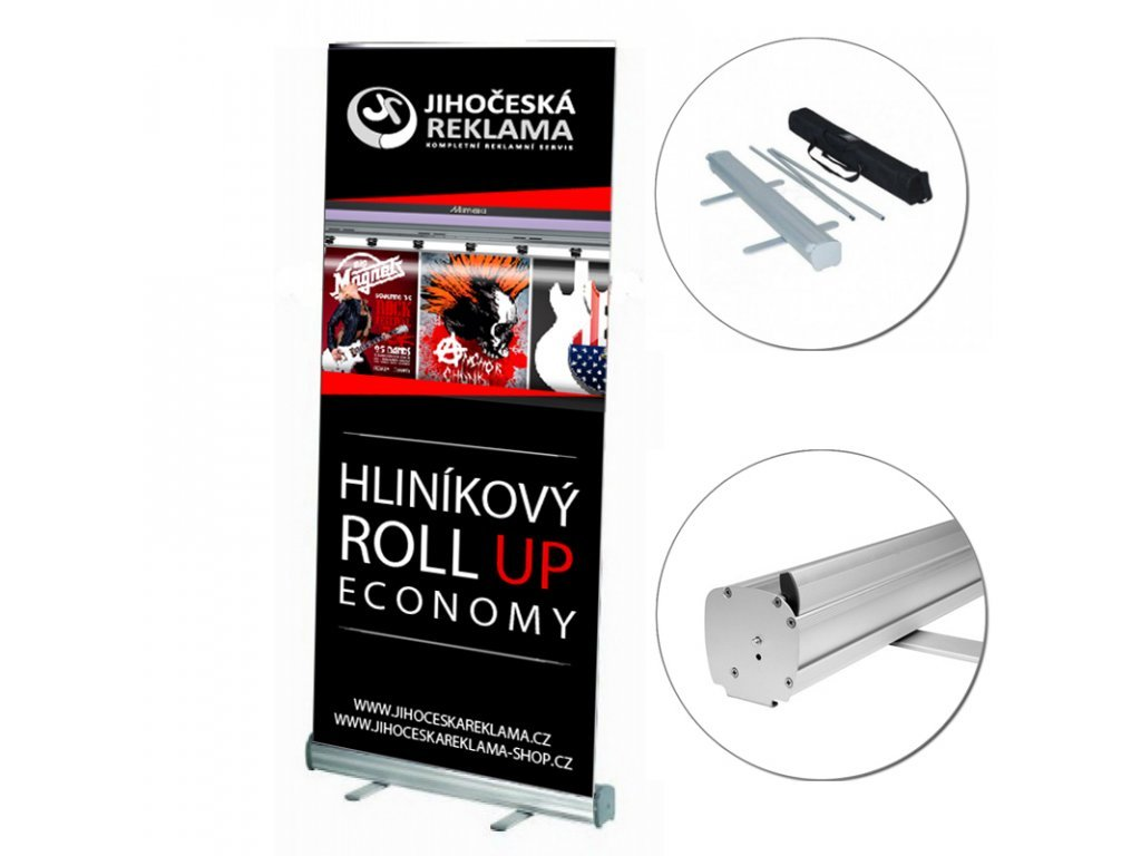 Roll-up štandard 85x200