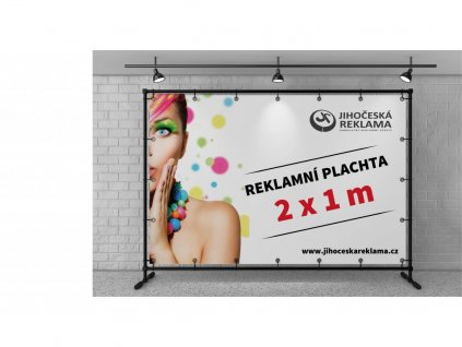 Reklamný plachta - banner 1,5 X 0,75 m