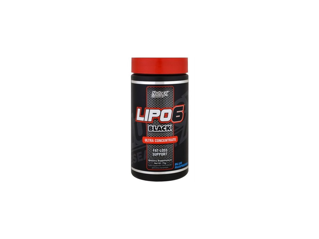 Nutrex Lipo 6 Black ULTRA CONCENTRATE 60 tablet (Spalovač tuků)
