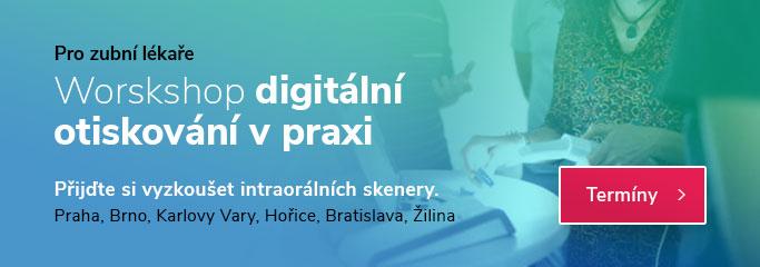 Workshop digitální otiskování