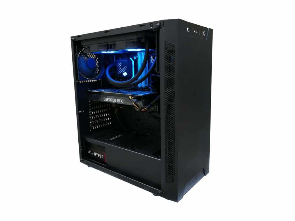 intel i9 900t vodni chlazeni rtx 2070 super 8gb 2500gb ssd 32gb ddr4