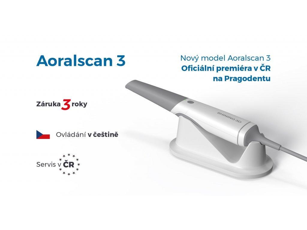 Aoralscan - pronájem