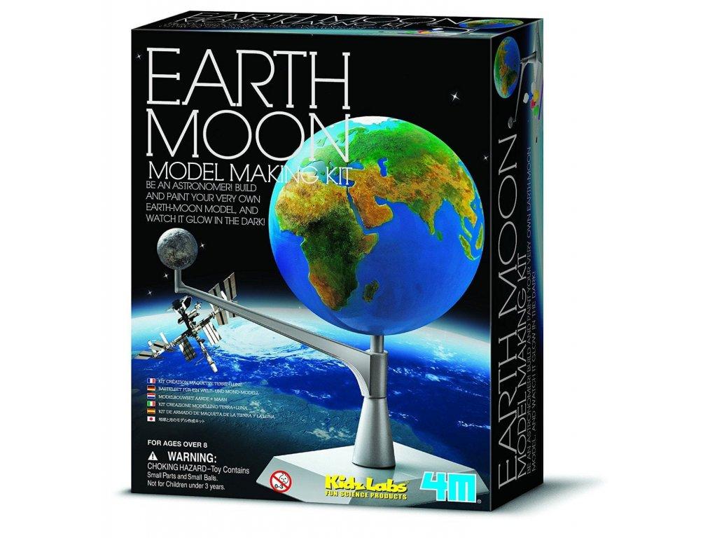 Model Zem a Měsíc