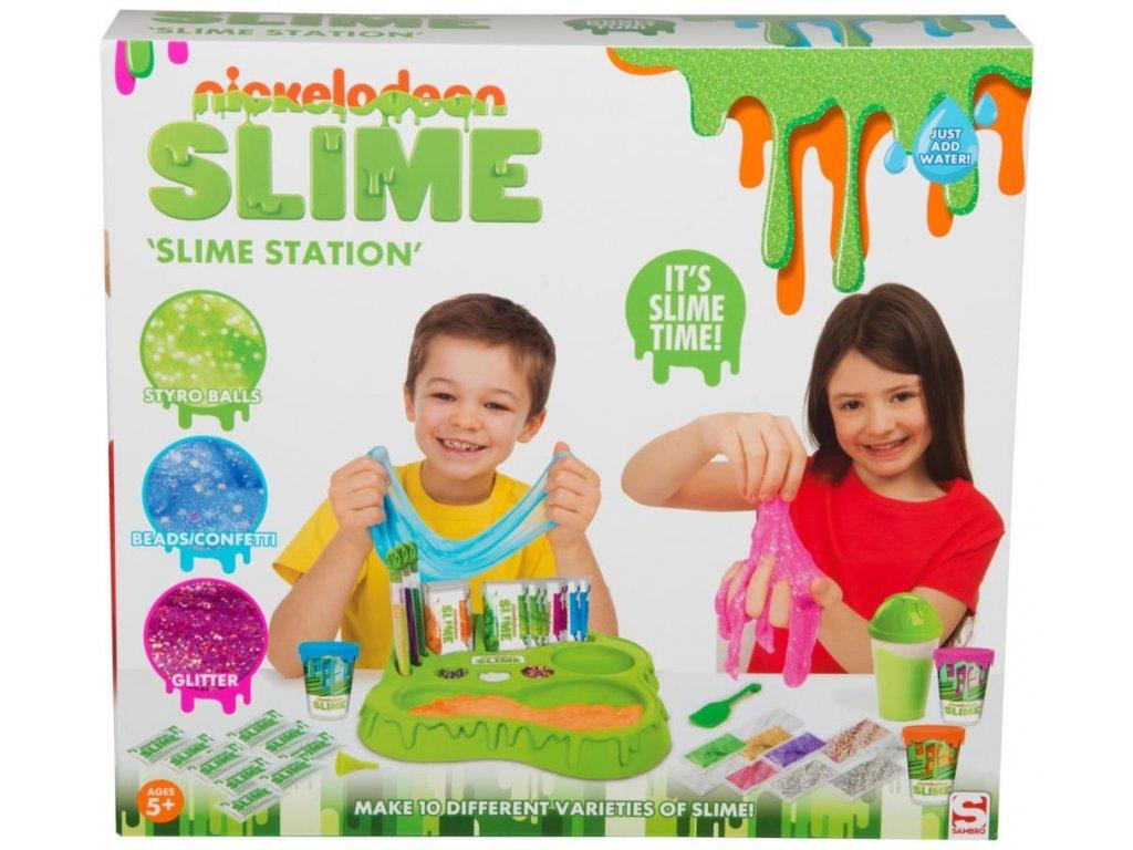 Laboratoř na výrobu slizu - Nickelodeon