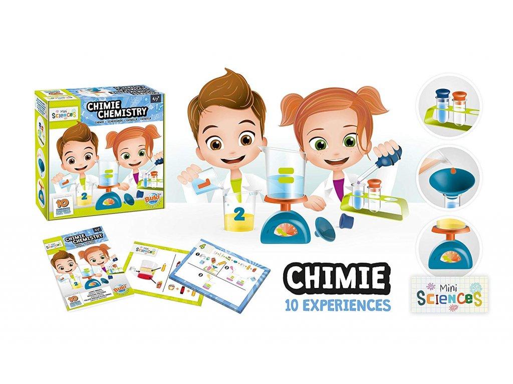 Chemická laboratoř pro předškoláky