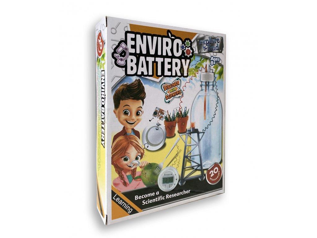 Zelená baterie