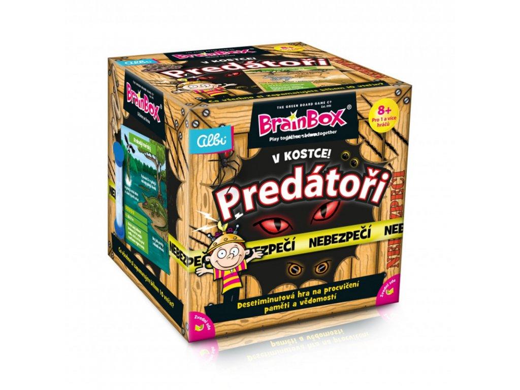 albi v kostce predatori
