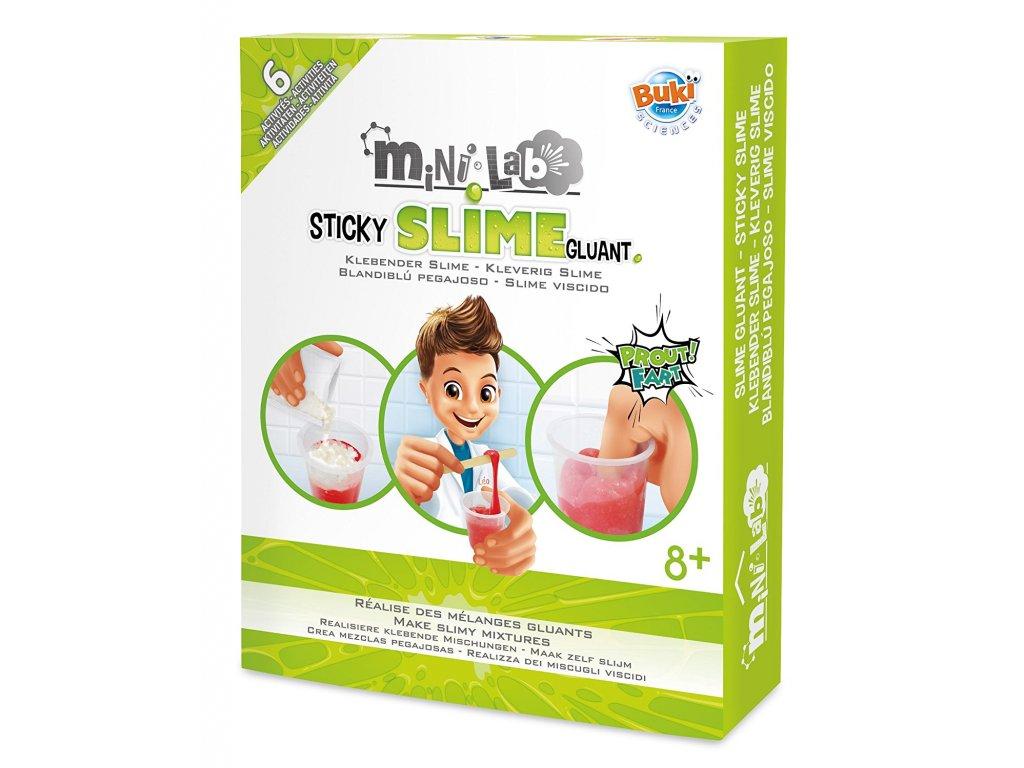 Minilabák - Výroba slizu