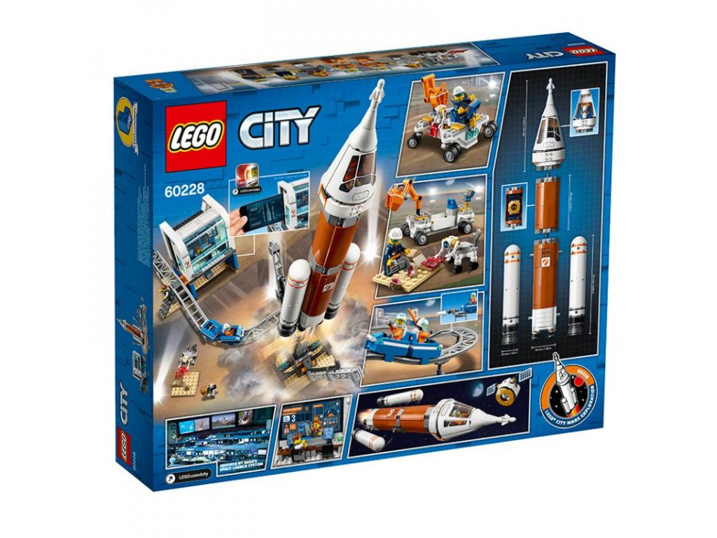 LEGO - Start vesmírné rakety