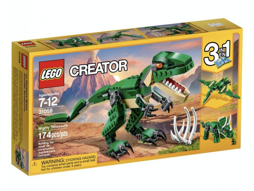 LEGO - Úžasný dinosaurus