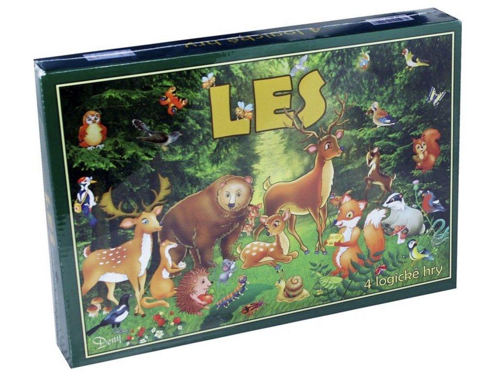 Les - 4 Logické Hry