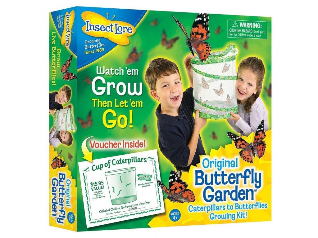 Motýlí Farma (5 housenek)