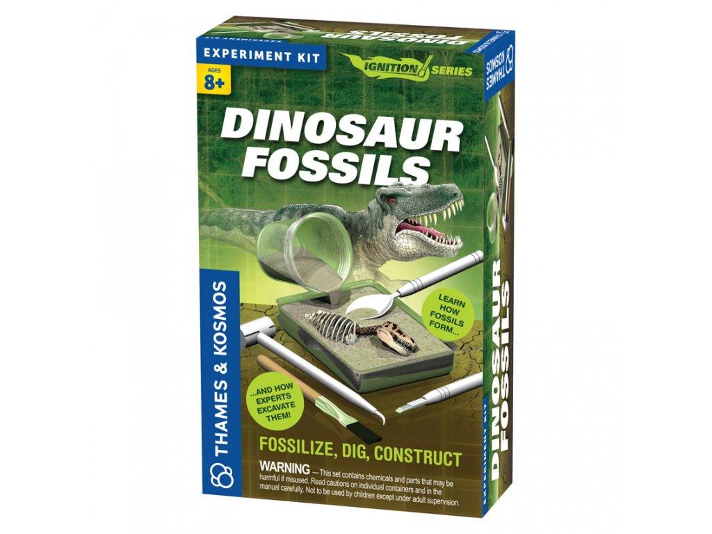 350 fosilie dinosaura