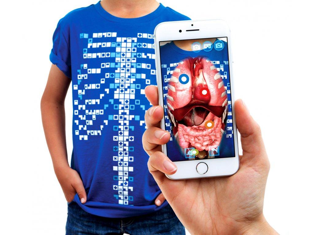 Tričko Virtuali-tee - Anatomie