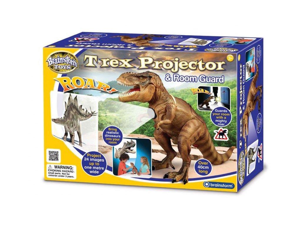 T-Rex projektor a strážce pokoje