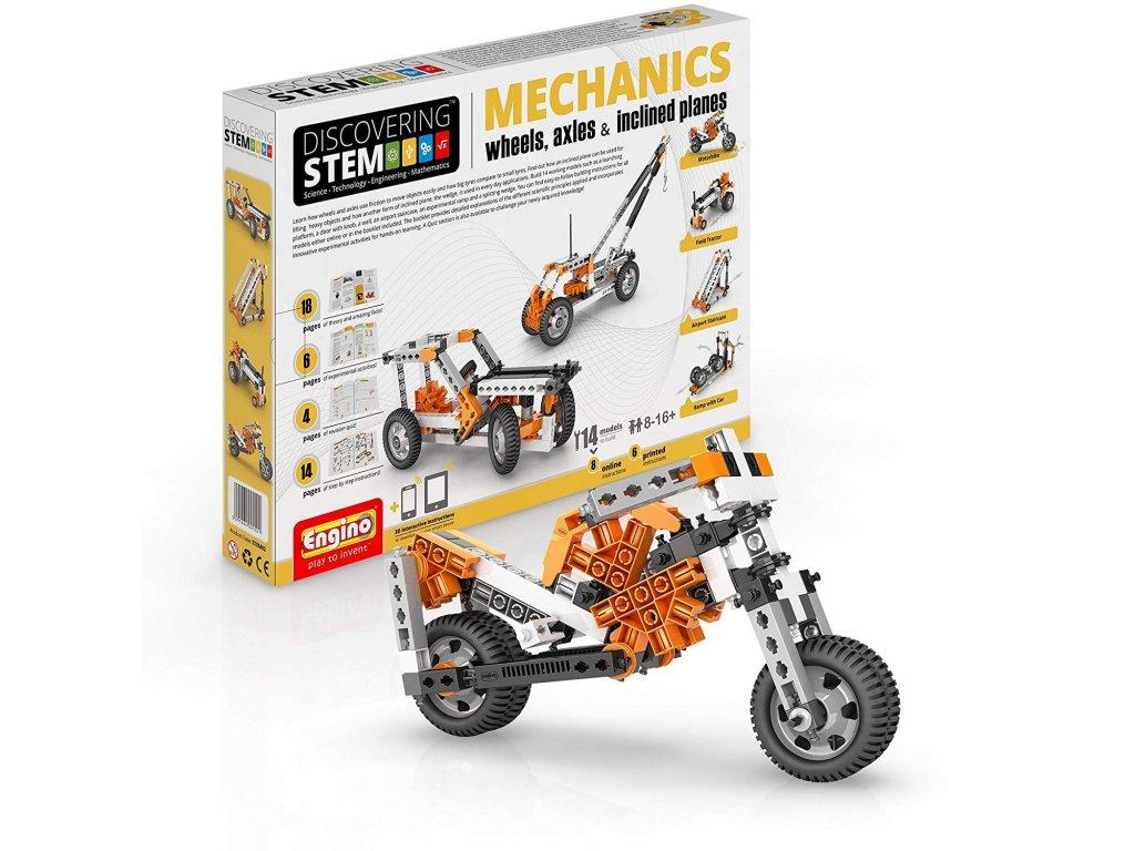 Mechanika - kola, nápravy, nakloněné roviny