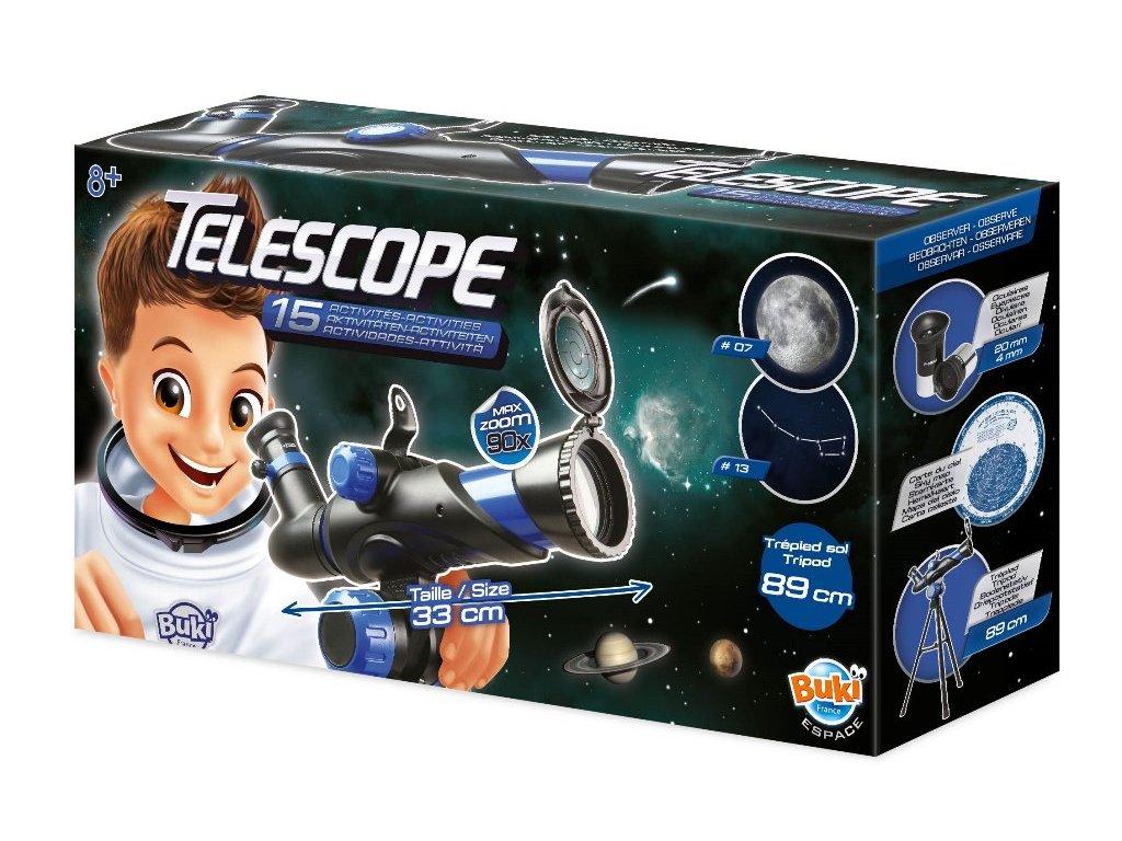 Dětský čočkový dalekohled