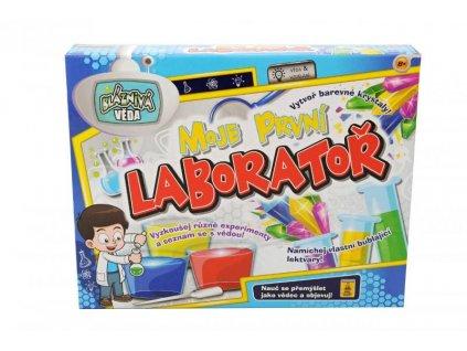 Moje první vědecké laboratoř