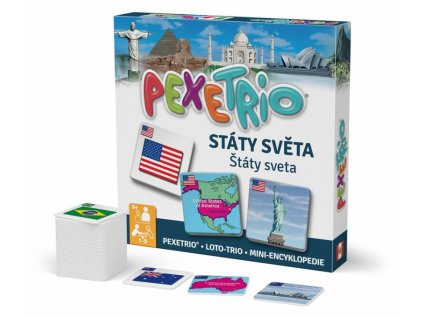 Pexetrio plus - Státy Sveta