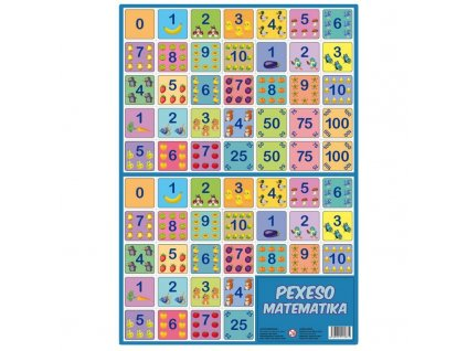 Pexeso - Matematika