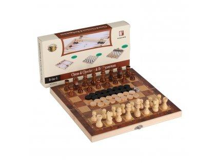 Šachy 3 v 1