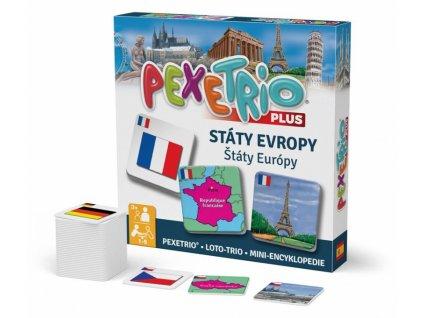 Pexetrio plus - Státy Evropy