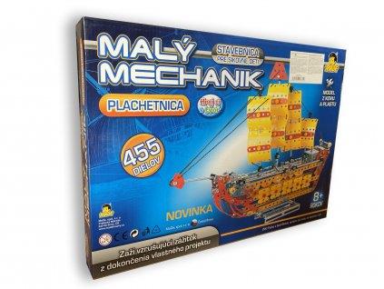 Mladý mechanik - plachetnice