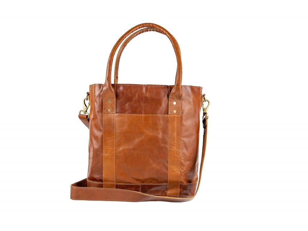 Kožená městská taška