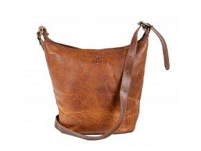 Dámská kožená městská taška - SAJO
