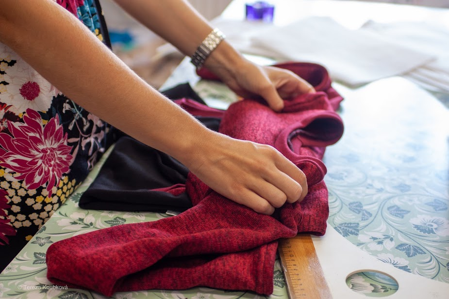Jak se rodí šaty značky Jsem máma