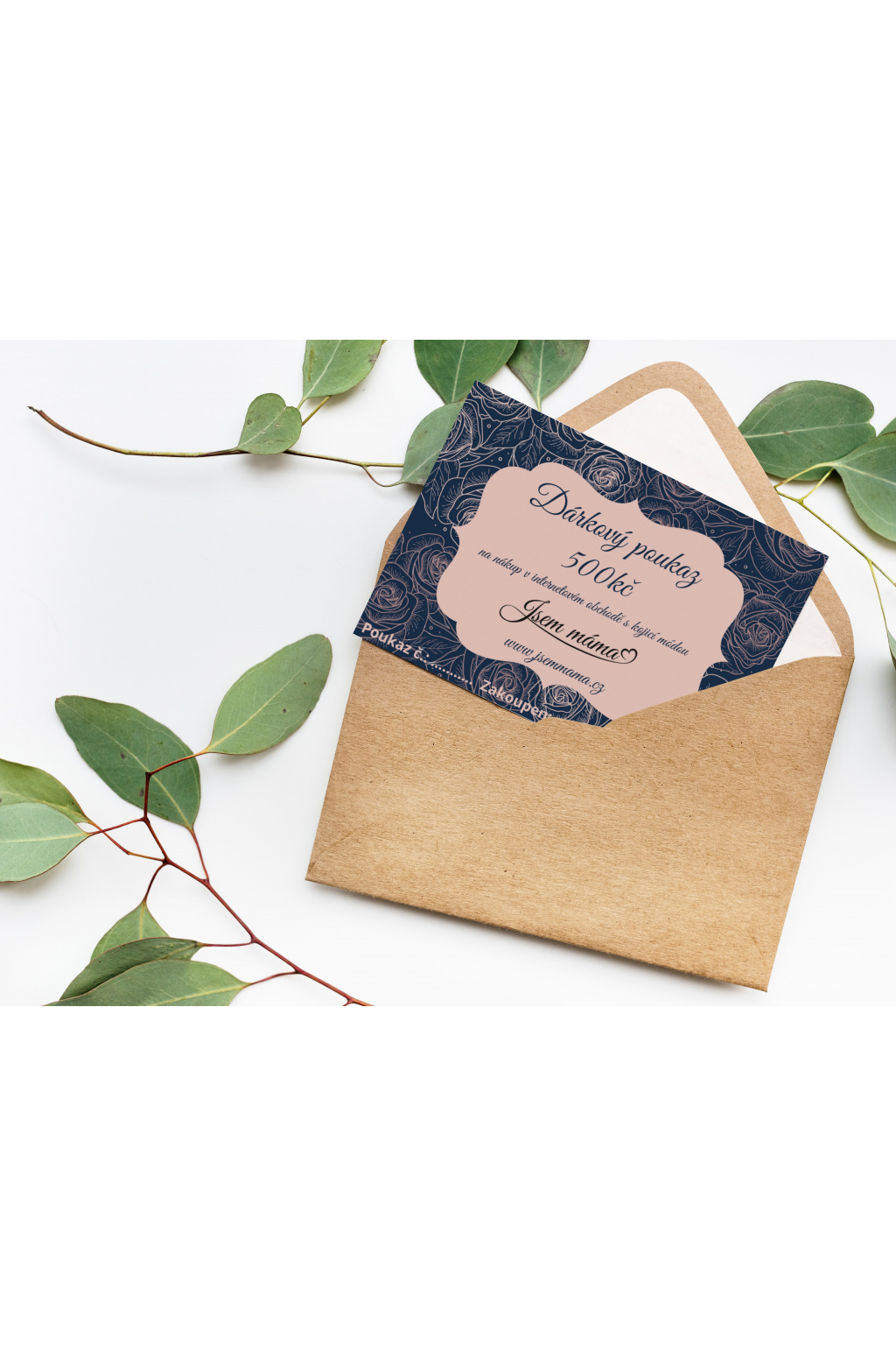 Greeting card and envelope (1)