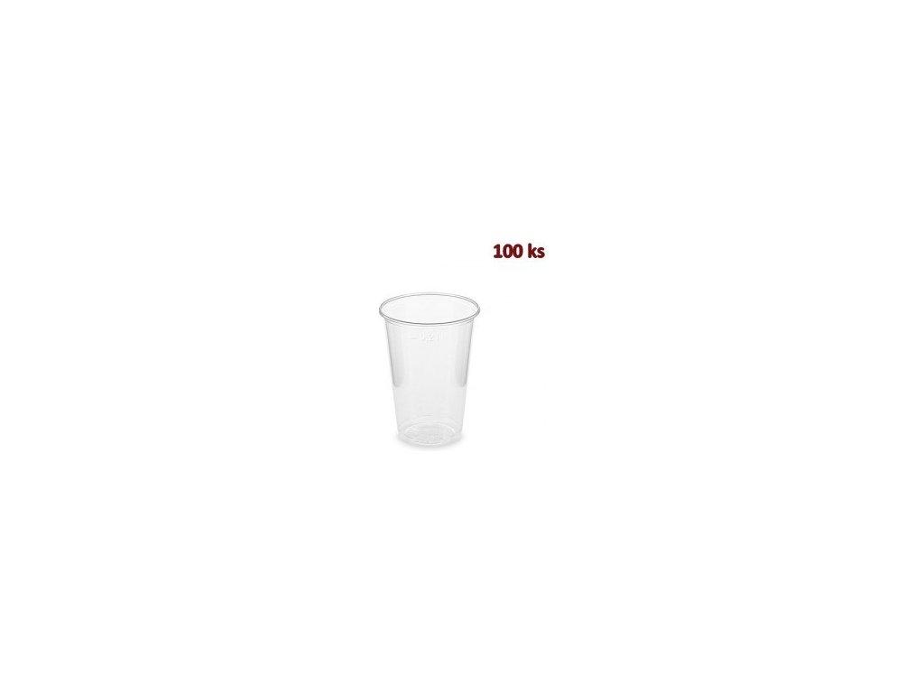 Kelímek BIO průhledný 0,2 l