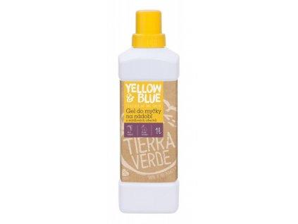 Yellow&Blue Gel do myčky na nádobí (1 l) - z mýdlových ořechů v bio kvalitě