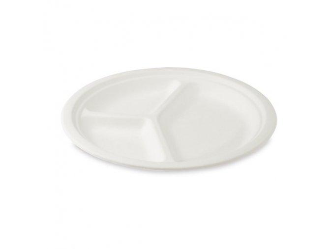 talíř 3 porce