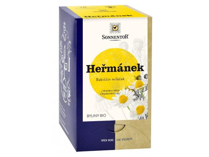 Sonnentor Heřmánek bio 14,4g porc.dvoukomorový