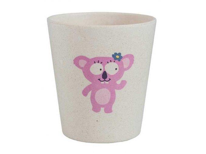 Jack n' Jill Dětský kelímek Koala - z bambusu a rýžových zrn