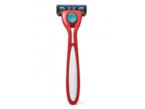 Preserve Holicí strojek Shave 5 (vč. 1 hlavice) - brusinkově červený
